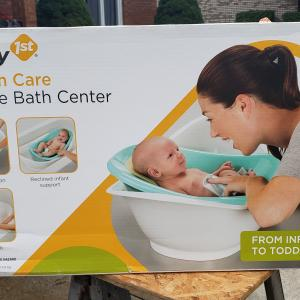 Photo of 3 stage baby bath center