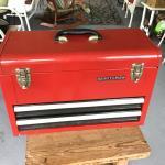 CRAFTSMEN METAL TOOL BOX
