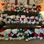 KMart Christmas Bears