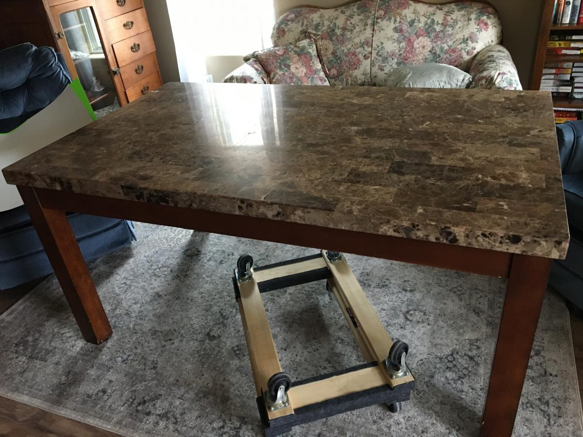 Photo 2 of Dining room table
