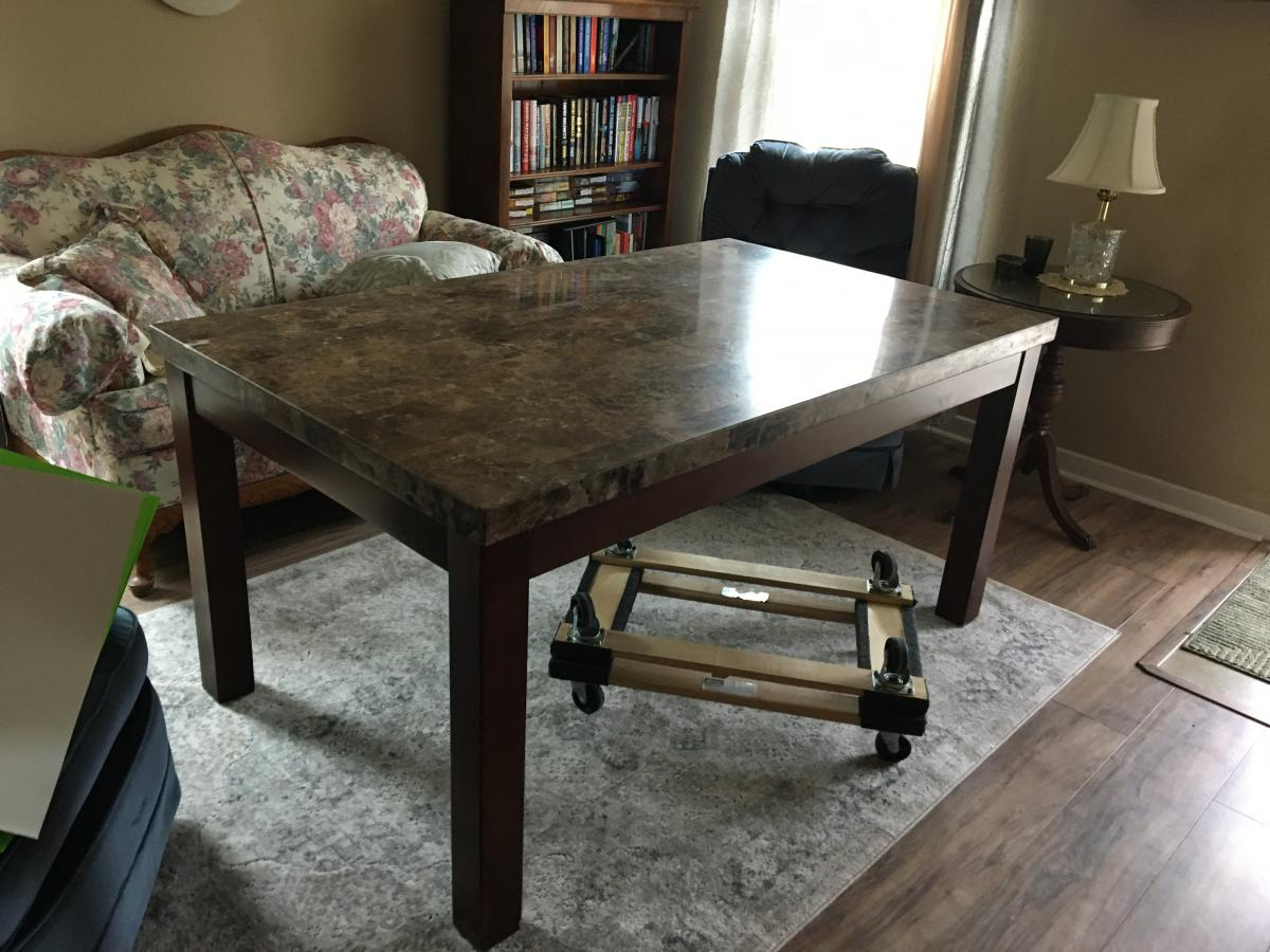 Photo 1 of Dining room table