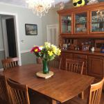 Hardwood  Dinning Table/6 chairs