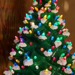 LARGE Vintage Ceramic Christmas Tree