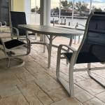 Outdoor Patio Table w/4 Chairs