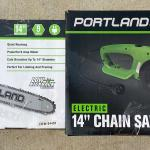 "Portland Corded Electric 14"" Chain Saw"