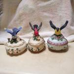 Porcelain  Music boxes