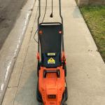 Black+Decker Electric lawn mower