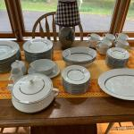 Noritake China Galaxy Pattern