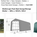 ShelterLogic Garage/Storage Shelter