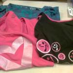 3 Zumba Tops Combination Six – Assorted Sizes