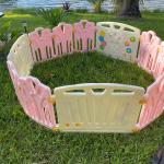 Play pen, See saw, Activity Table, Tent, Frozen Dolls, Baby clothes, Toys