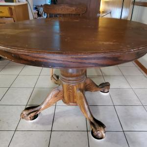 Photo of Solid Oak Table