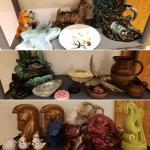 LOTS OF HAEGER POTTERY vintage, mid century, art deco, etc