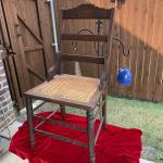 Antique Cane Bottom Chair