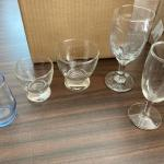 Glass bar ware set