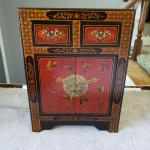 Oriental accent table