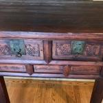 Vintage Wood Altar Table