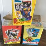 base ball cards 1988 thru 1991