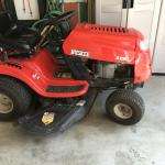 Huskee riding mower and attachments