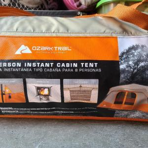 Photo of 8 person Instant Cabin tent