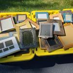 Over 70 Assorted Picture Frames