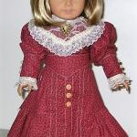 "Handmade 18"" doll clothes, fits American Girl Doll."