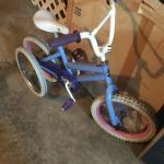 16 inch bike with training wheels