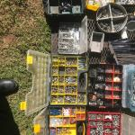 Tools, hardware, camp gear, trailers