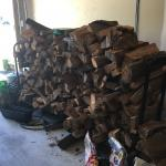 1/2 Cord of Firewood and Stand