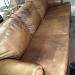 Sheep skin ex long couch