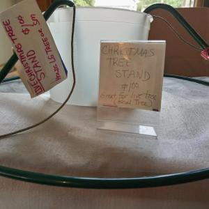 Photo of Sturdy  Live Christmas Tree Stand