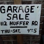 Garage/pre-moving SALE