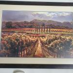 Framed Vineyard Print