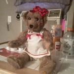 Coka cola bear stamped in good condition great for coca cola collectors