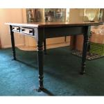 Farmhouse Dining Table with Drawers, Excellent Condition