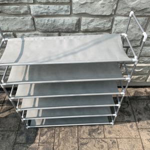 Photo of Lightweight Cloth Shoe Rack