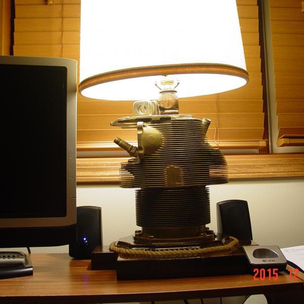 Photo of AIRPLANE ENGINE LAMP