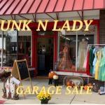 JUNK N LADY Garage/ Sidewalk Sale