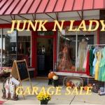 JUNK N LADY Garage/ Sidewalk Sale
