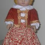 "18"" doll Handmade, skirt, blouse and jacket"