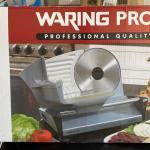 Waring Pro Food Slicer Model WPS200PC Looks Unused