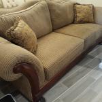 Very Nice Sofa and Love Seat