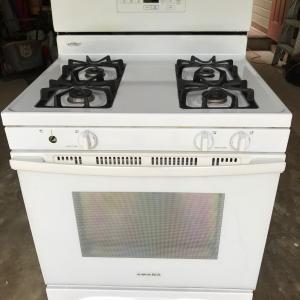 Photo of Amana gas stove