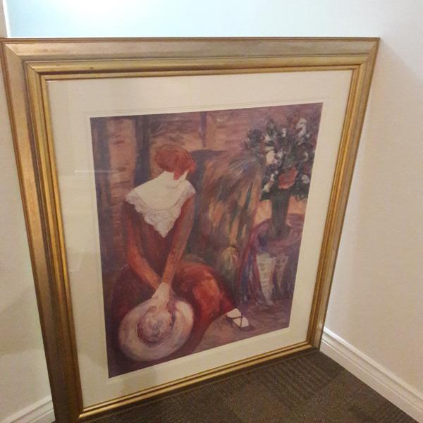 Photo of Painting Barbara A. Wood: 'Taffeta and Lace'