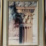 """Framed Art """"The Column"""""""