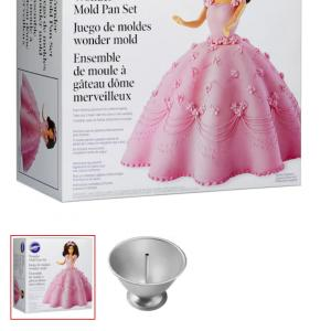 Photo of  doll cake mold
