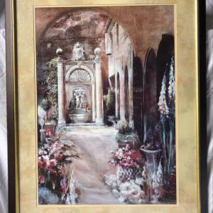 Photo of European style framed art