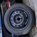 Unused spare tire
