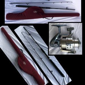 Photo of Quantum Optix 80 Rod,Poll & Mountain Cork Rod Case