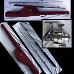 Quantum Optix 80 Rod,Poll & Mountain Cork Rod Case